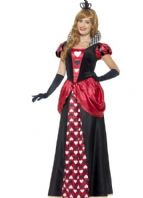 Royal Red Queen of Hearts Costume (45489)
